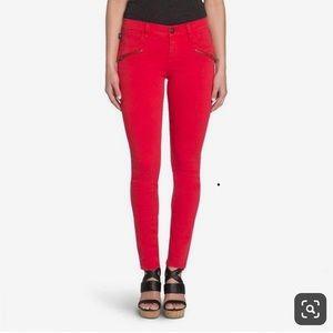 Rock & Republic Red Kashmiere Skinny Jeans